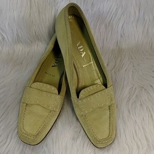 Prada Suede Loafers